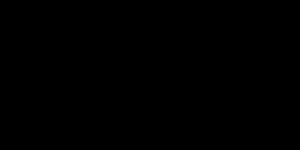 リボンワンポイント黒