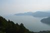 賤ケ岳山上から竹生島