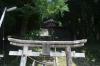 布須神社鳥居拝殿