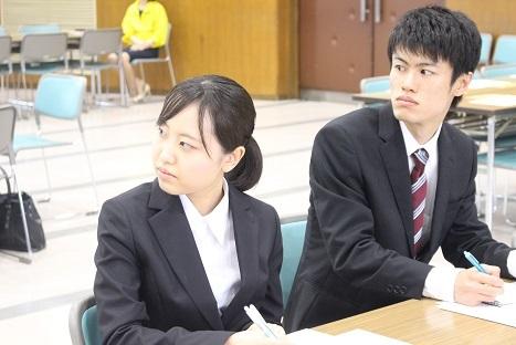 福重さんセミナー学生