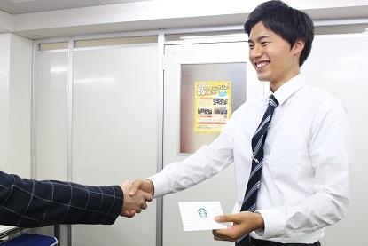 ★優勝握手