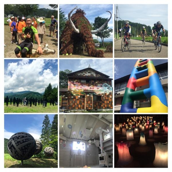 津南祭大地の芸術祭プレサイクリング20150725