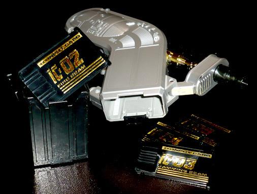 ビーファイターカブト カード入力システム インプットカードガン
