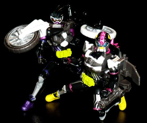 仮面ライダーレーザーターボ プロトコンバットバイクゲーマー レベル0&仮面ライダーゲンム プロトスポーツアクションゲーマー