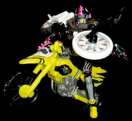 仮面ライダーレーザーターボ プロトスポーツバイクゲーマー レベル0