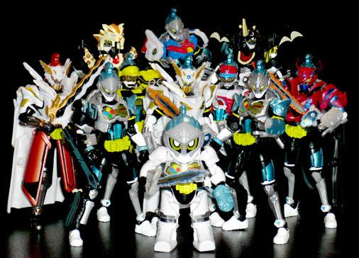 仮面ライダーブレイブ全10形態&トゥルーブレイブ