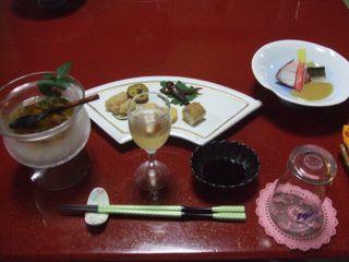 2日目晩ご飯1