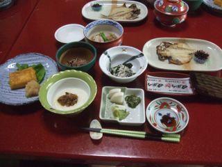 3日目朝ご飯1