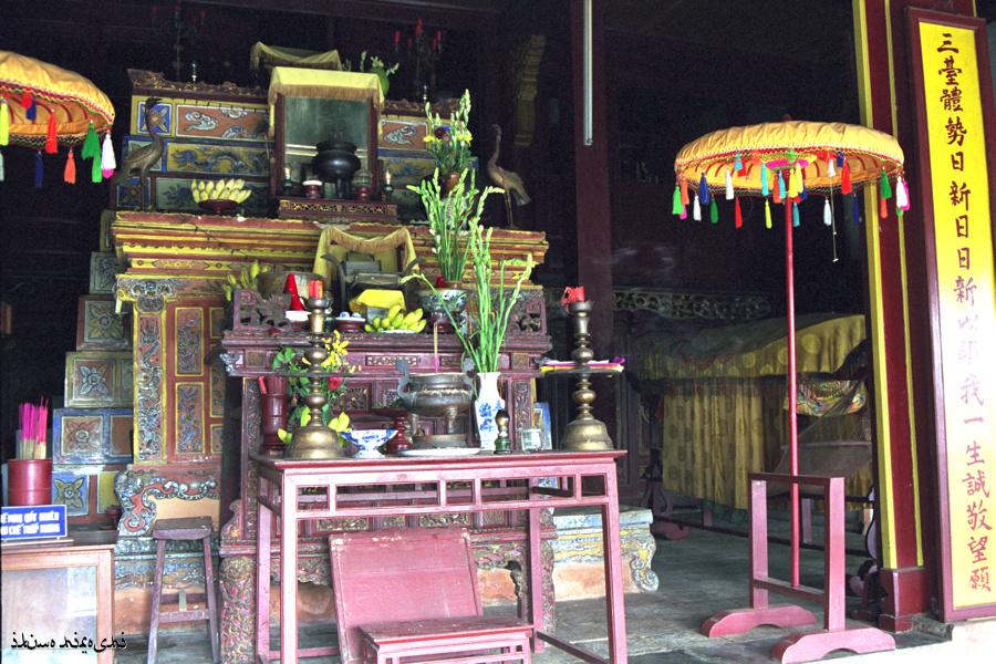 ホンチェン殿祭壇