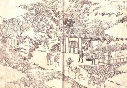 天保6年(1835年)犬塚絵図