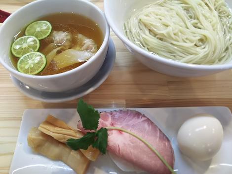 特級白醤油つけ麺