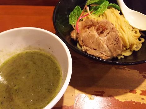 バジルつけ麺