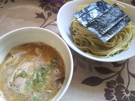 鮎白湯つけ麺