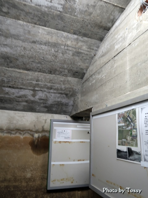 防空壕 最初の小部屋