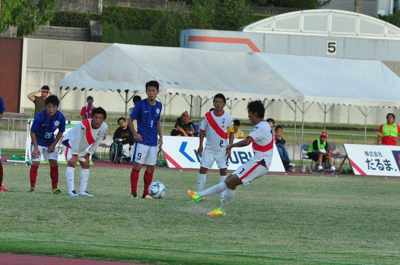 2017東海リーグ第11節vsChukyo univ FC-2