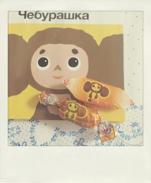 チェブラーシカのチョコレート