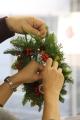 171210 クリスマスリース&スワッグ ワークショップ-03