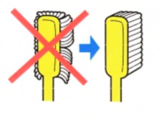 歯ブラシの交換
