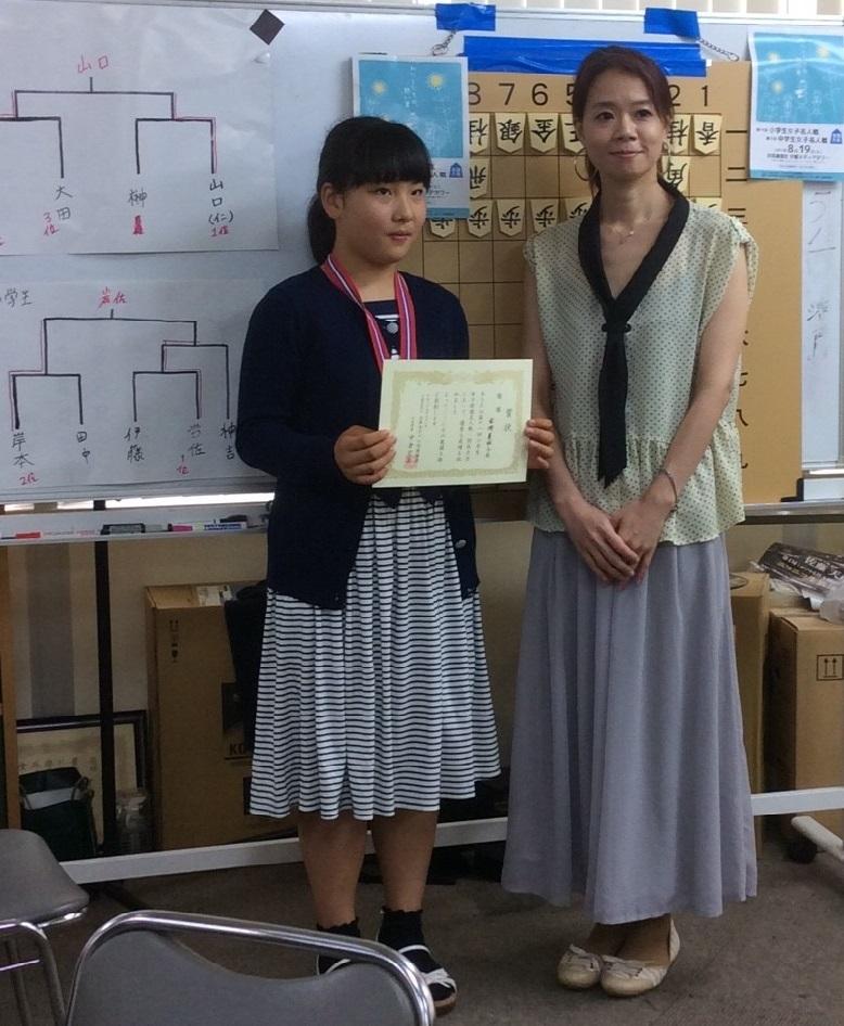2017-7-2小学生女子名人戦関西大会