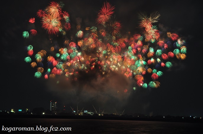 2017古河花火大会10