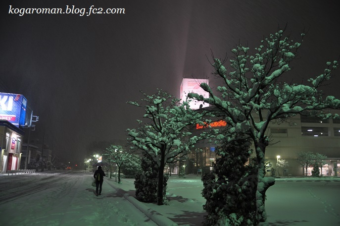 2018年1月22日の大雪
