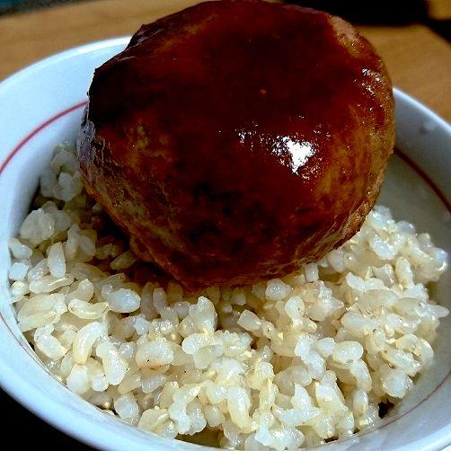 玄米ハンバーグ