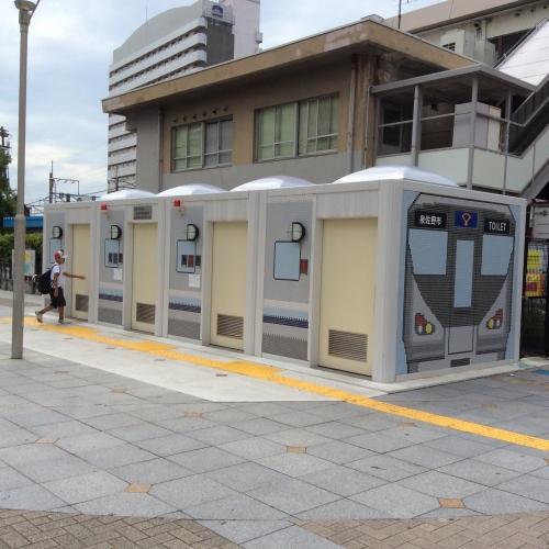 日根野駅の公衆トイレ