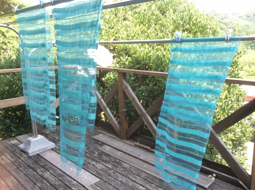 はーぶ工房もくもくさん 藍の生葉染め04