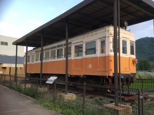 くすのき公園の野上電鉄2017-02