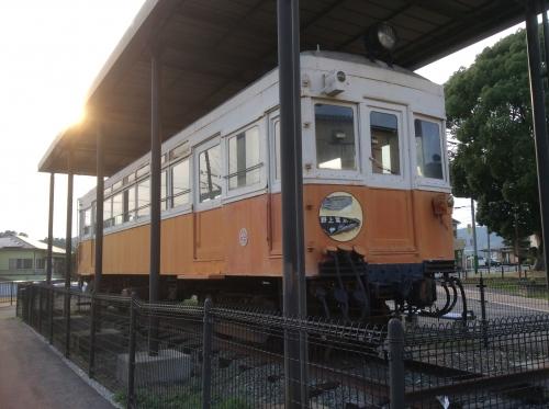 くすのき公園の野上電鉄2017-05