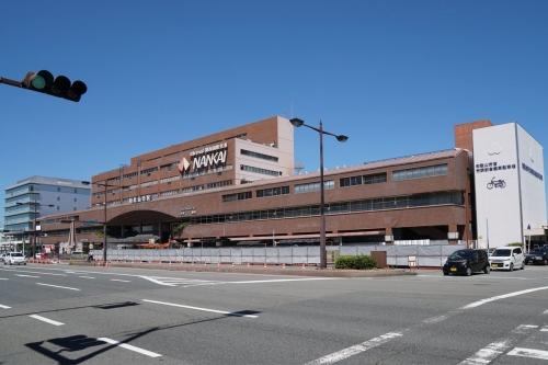 南海和歌山市駅2017.9-03