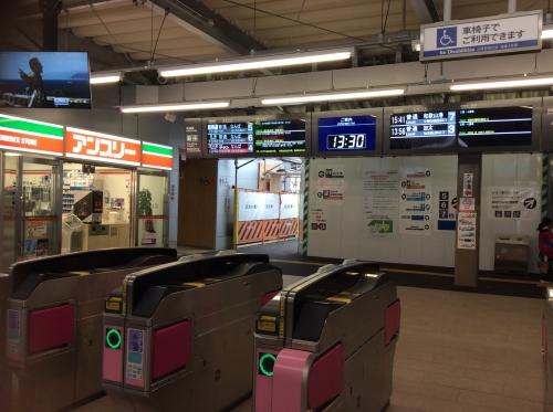 南海和歌山市駅2017.9-08