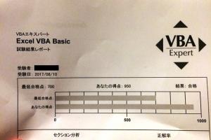 0810VBA合格