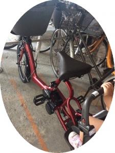 0826サイマで自転車