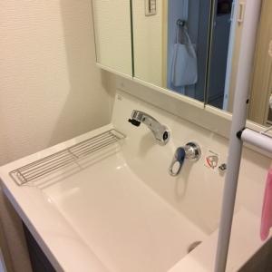 0917ハウスクリーニング洗面