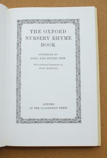 opie - oxford nursery rhyme book 02