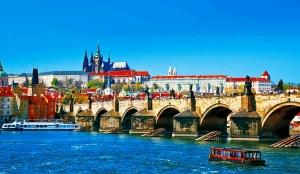 中欧 プラハ カレル橋 jtB EBP13-08378A