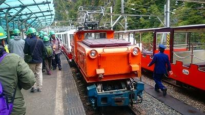 富山 黒部峡谷ツアー機関車 DSC_2723