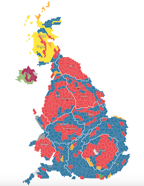General Election 2017 Devided politically