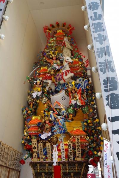 中洲流 飾り山 福岡 博多 山笠