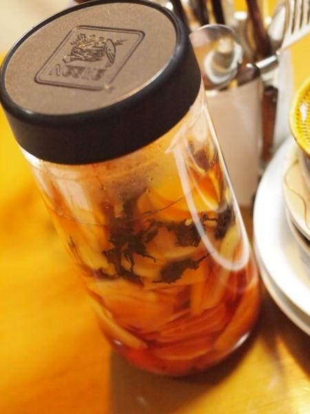 自家製紅生姜