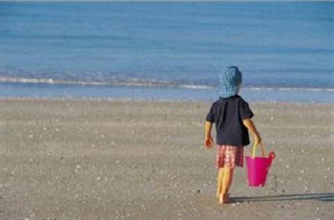 170706 海と子供