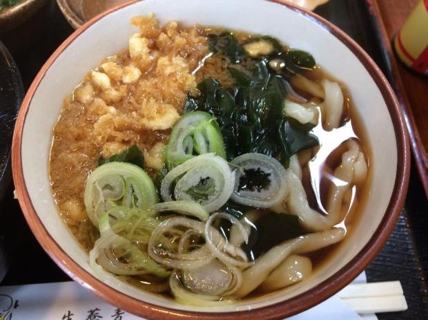 まぐろ納豆丼@満月 (3)