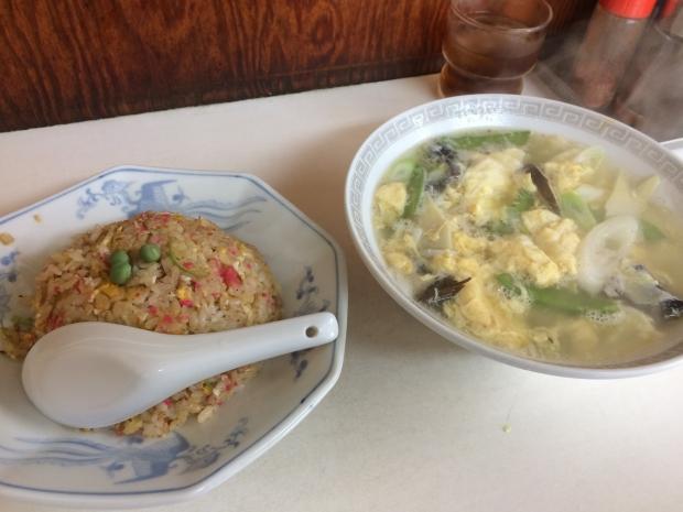 半チャン玉子スープ