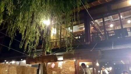 京都 鴨川納涼床