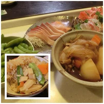 たけのこご飯4