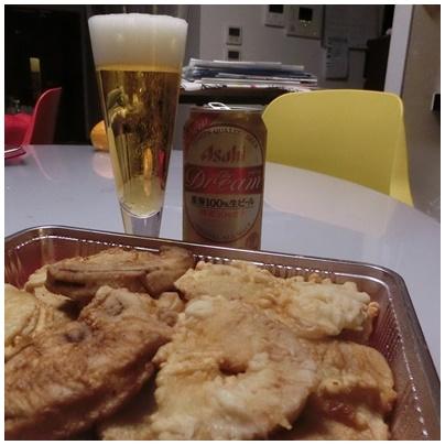 たけのこ天4(ビール)