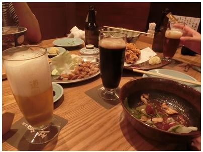 魚武4(ビール風景)