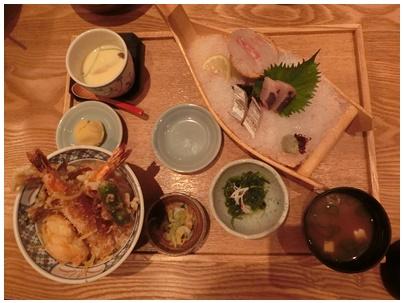 魚武6(道後天丼御膳)