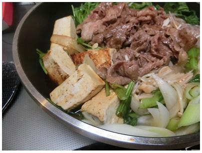 岩豆腐2(すき焼き)